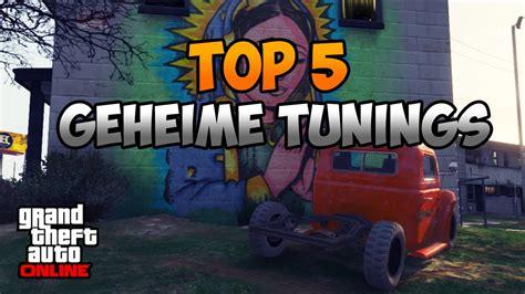 gta 5 werkstatt gta 5 top 5 geheime tuning autos secret tuning