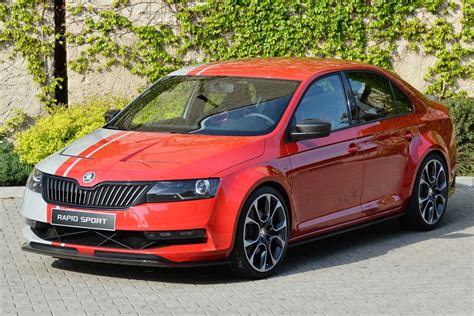 Skoda Rapid Sport concept pictures   Auto Express