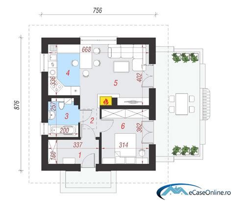 one room cottage plans small one room house plans