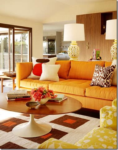orange sofa living room ideas orange october interior design go giants simplified bee