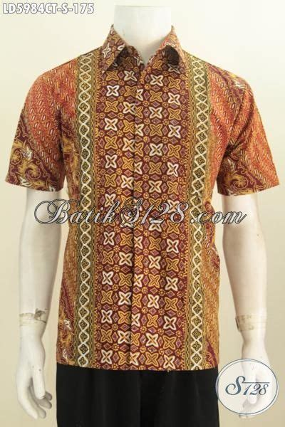 Kemeja Batik Clasic kemeja batik modern classic dengan kombinasi motif nan