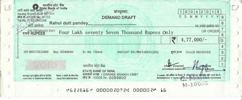dd cancellation letter format for sbi bank 89 sbi demand draft format features of cts 2010
