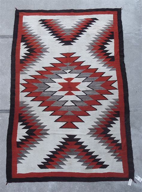 Southwest Rugs And Blankets by 1427 04 Navajo Rug Large Ganado 60 Quot X 106 Quot