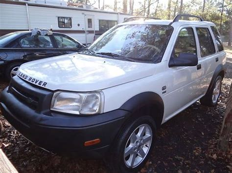 auto body repair training 2002 land rover freelander security system find used 2002 land rover freelander suv hse needs repair in panama city florida united states