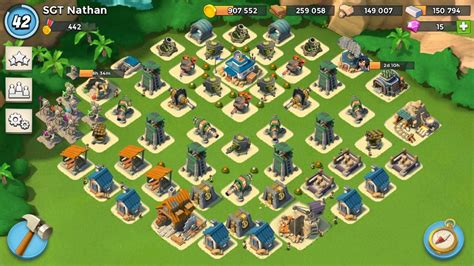 base layout strategy boom beach project hq16 base design