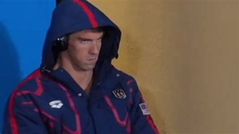 Michael Phelps Meme - michael phelps game face at the rio olympics becomes