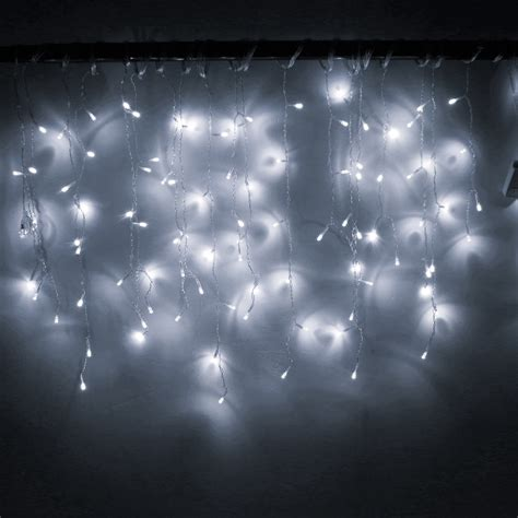 led outdoor decorative lights christmas 4m 96 led curtain icicle string lights 220v