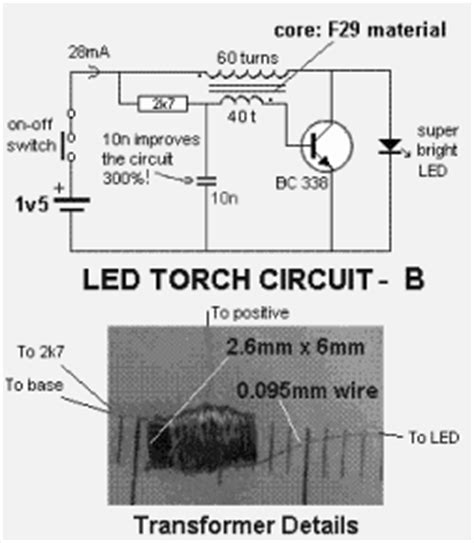 led power supply circuit diagram led circuit page 5 light laser led circuits next gr