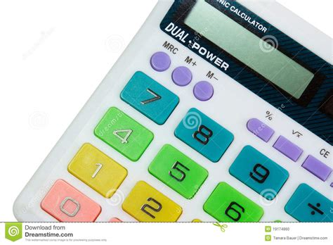 colorful calculator colorful calculator stock photo image of number object