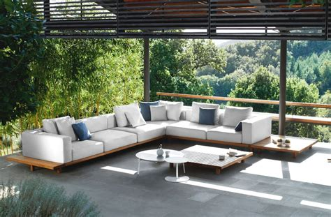 modern outdoor sofa sets charming modern patio furniture