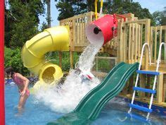 how to build a backyard water park backyard water parks on pinterest backyard splash pad splash pad and beach entrance