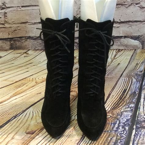 7 Gorgeous Pairs Of Lace Up Boots by 68 Nine West Shoes Hp Nine West Lace Up Black Suede