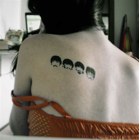 beatles tattoos cool beatles ideas