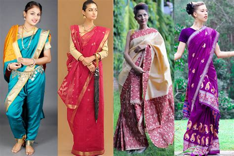 different styles of draping saree different types of saree draping styles in india