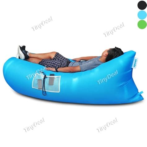 inflatable beach bed laude upgrade fast inflatable lounger air sleep sofa bed