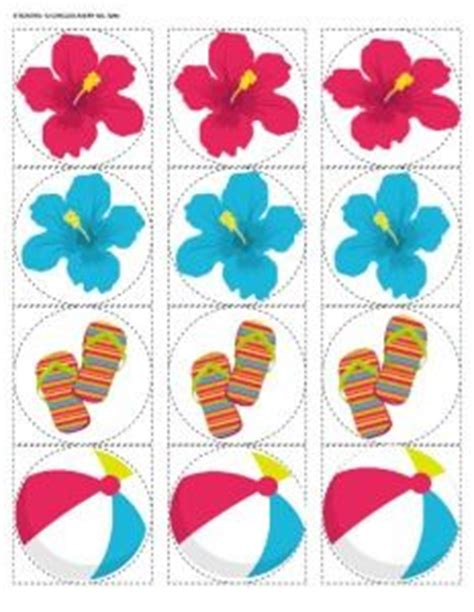 free printable luau party decorations 1000 images about beach birthday party on pinterest