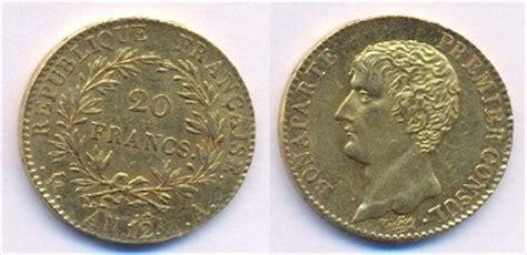 napoleone primo console numismatica monete mondiali oro francia napoleone