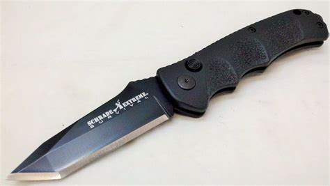 schrade automatic knives schrade sc60bt survival automatic knife