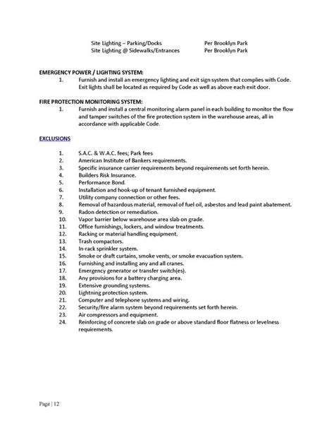 Lease Commencement Date Letter Standard Form Industrial Building Lease By Clearfield