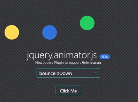 jquery animate background color jquery plugin to manage animate css based animations