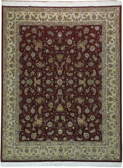 burgundy area rugs 8 x 10 burgundy woven 8x10 wool silk high end area rug ebay