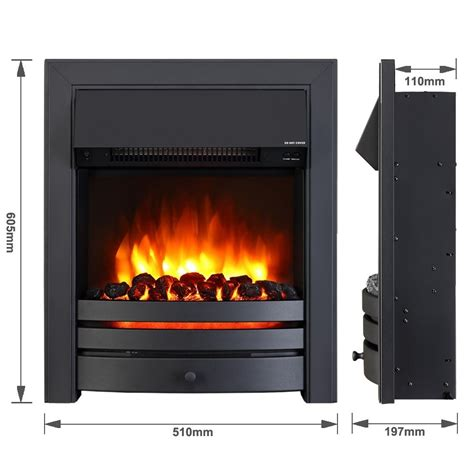 contemporary electric fires uk roxby inset electric fires endeavour fires and fireplaces