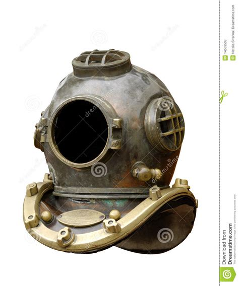 old diving helmet royalty free stock photos image 14563508