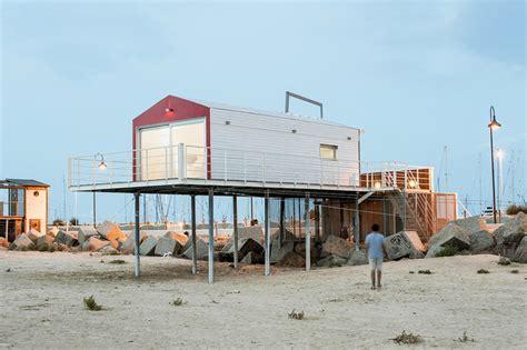 small beach house on stilts little stilt beach house in italy