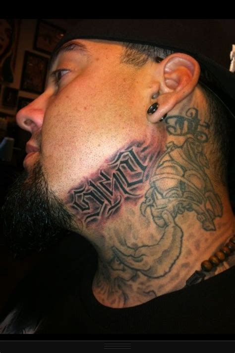 big gus neck tattoo 5150 big gus pinterest