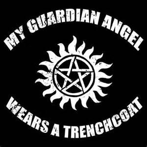 supernatural castiel guardian angel unisex t shirt