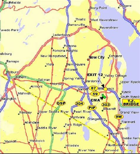 rockland county map ny rockland county real estate information the hudson