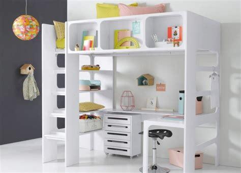 lit mezzanine bureau enfant un lit mezzanine pour gagner de la place joli place