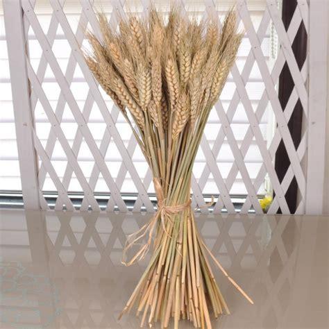 aliexpress com buy 50pcs artificial flower ear of wheat