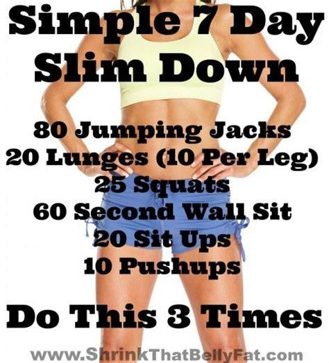 7 day weightloss challenge best 25 7 day challenge ideas on