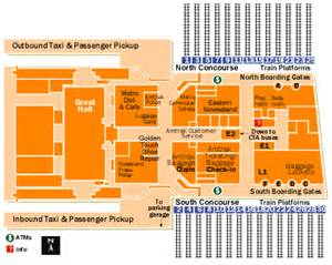 Map Of Union Station Chicago by Union Station Chicago Map