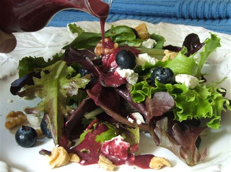angie montroy angie s pantry green salad with blueberry