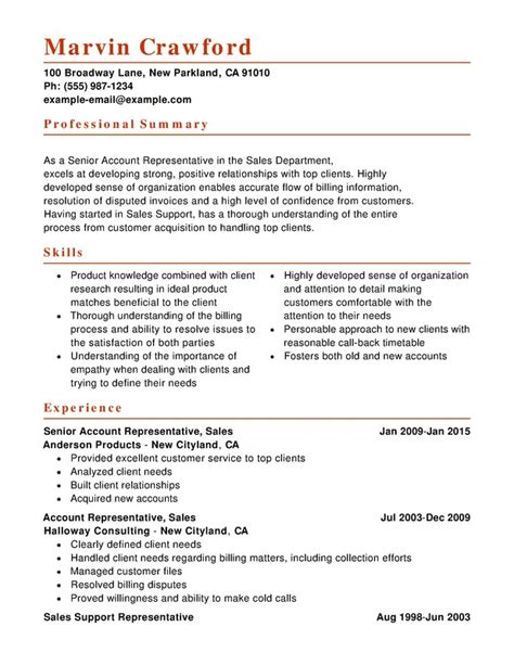 Sle Of Combination Resume Format by Sales Combination Resume Resume Help