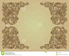 medieval background stock vector image of decorative