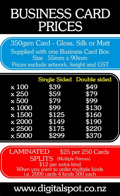 Business Cards Nz