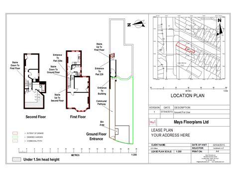 estate layout plan land registry land registry compliant lease plans mays floorplans