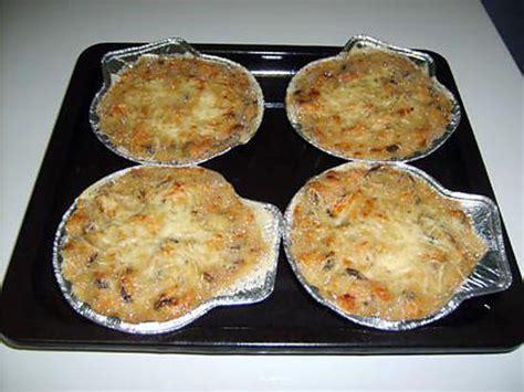 cuisiner les coquilles st jacques surgel馥s les meilleures recettes de gratin au ramequin