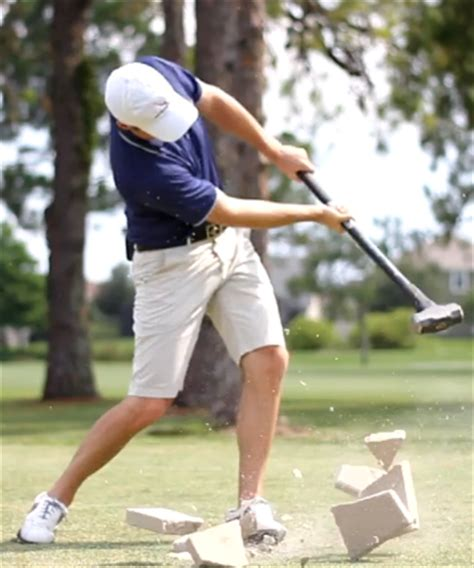 rotary golf swing downswing is your right shoulder making your golf swing worthless