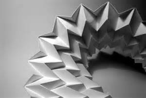 Folded Paper Designs - paper folding artworks