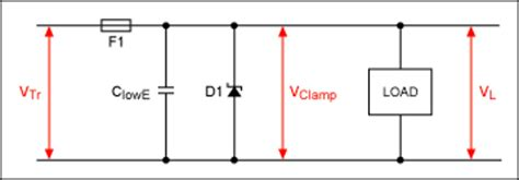 tvs diode circuit active high voltage transient 汽车电路图 电子发烧友网