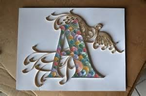 1000 images about quilling alphabet on
