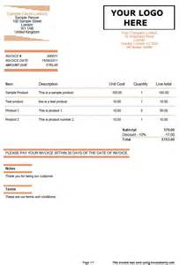 quote and invoice template orange lines invoiceberry blog