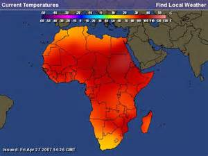 Climate Map Of Africa by Gallery For Gt Climate Temperature Map Of Africa