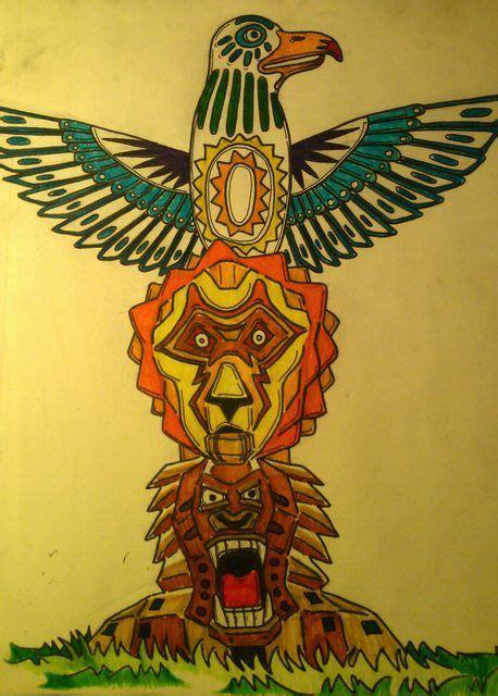 lion totem pole avphdorg server  art  kids art