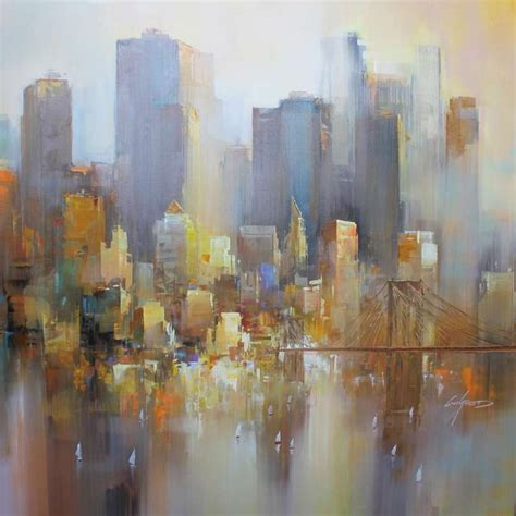 acrylic painting new york 49 best images about wilfred lang on new york