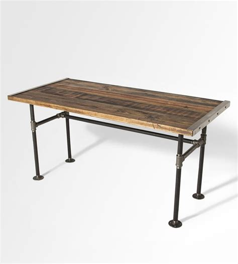wood and pipe desk 25 best pipe furniture images on industrial